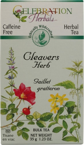 Celebration Herbals Cleavers Herb Bulk Tea Perspective: front