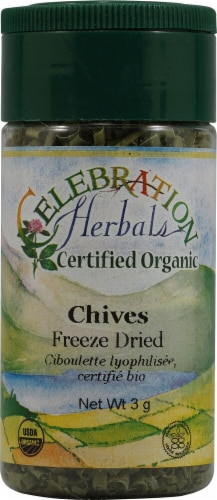 Celebration Herbals  Organic Chives Cut Perspective: front