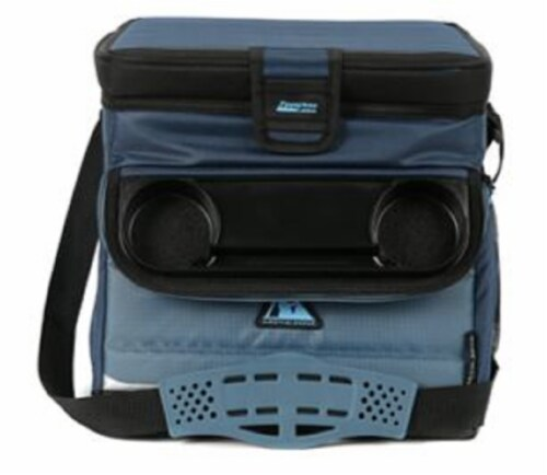 Arctic Zone Ultimate Zipperless Cooler - Blue Perspective: front
