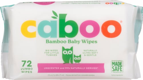Caboo  Baby Wipes Perspective: front