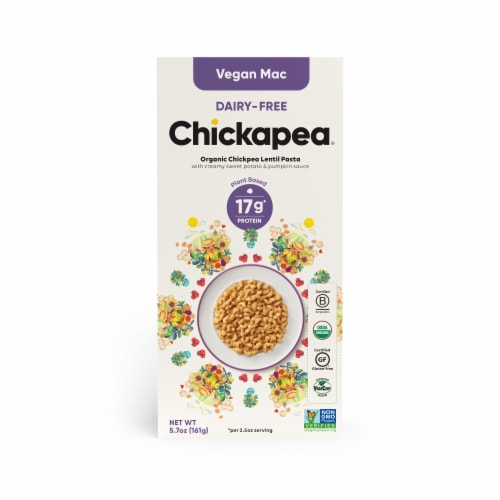 Chickapea Dairy-Free Vegan Mac Perspective: front