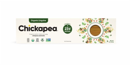 Chickapea Organic Linguine Perspective: front