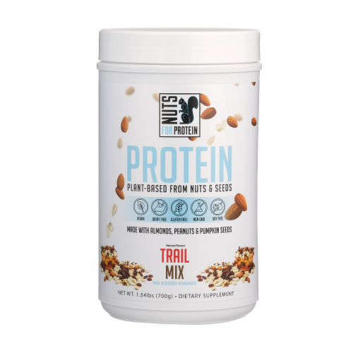 Nuts For Protein Trail Mix Nuts & Seeds Plant-Based Protein Perspective: front