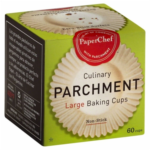 Paper Chef Large Culinary Parchment Baking Cups Perspective: front
