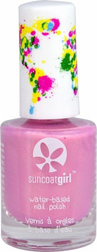 Suncoat Products Girl Eye Candy Water-Based Nail Polish Perspective: front