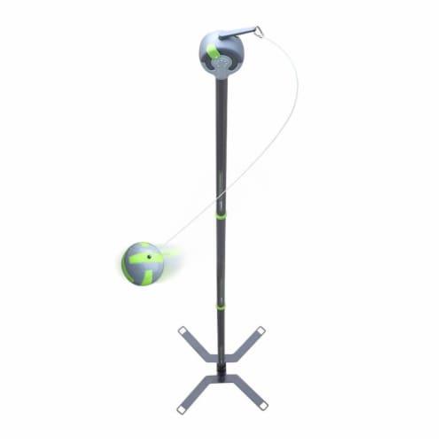 Viva Active Ultimate 2 in 1 Swingball and Tetherball Set with Paddles Included Perspective: front