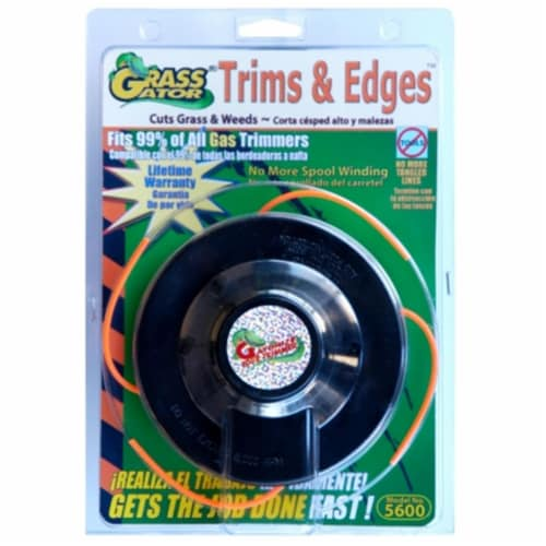 Grass Gator Grass Gator String Trimmer Replacement Cutting Head  5600-6 Perspective: front