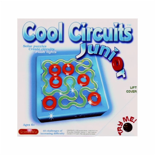 ScienceWiz Cool Circuits Junior Perspective: front