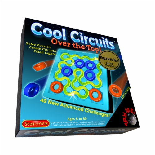 ScienceWiz Cool Circuits Over the Top! Puzzle Perspective: front