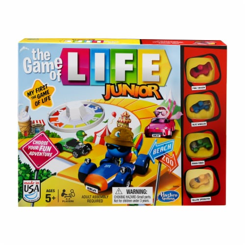 Hasbro The Game of Life Junior Game Perspective: front