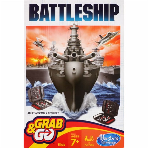 Hasbro Gaming Battleship Grab & Go Perspective: front