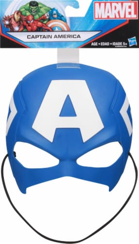 Hasbro Marvel Captain America Movie Roleplay Mask Perspective: front