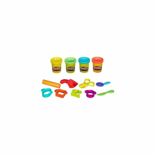 Hasbro HSBB1169 Play-Doh Classic Tools Convenient Creativity Starter Set Kit Perspective: front