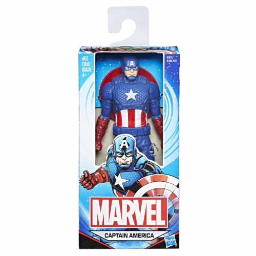 Hasbro Marvel Captain American Action Figure Perspective: front