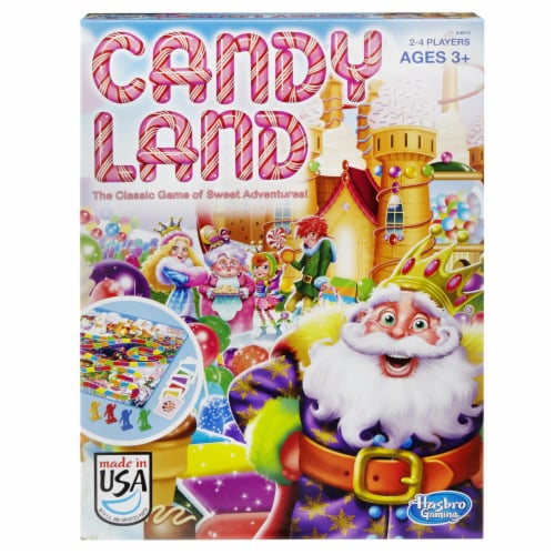 Hasbro Candy Land Board Game Perspective: front