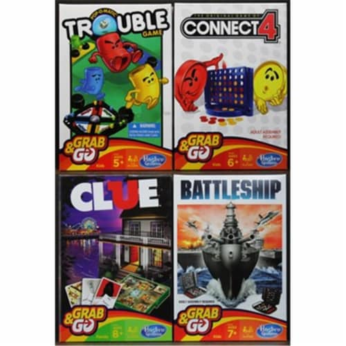 Hasbro B1004 Grab & Go Game Ast 24 Perspective: front