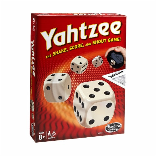 Hasbro Yahtzee Game Perspective: front