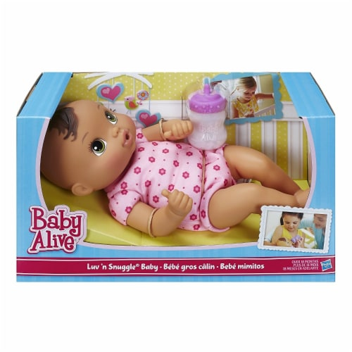 Hasbro Baby Alive Luv 'n Snuggle Doll - Blunette Perspective: front