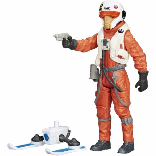 Star Wars The Force Awakens 3.75-Inch Figure Snow Mission Wave 2 X-Wing Pilot Asty Perspective: front