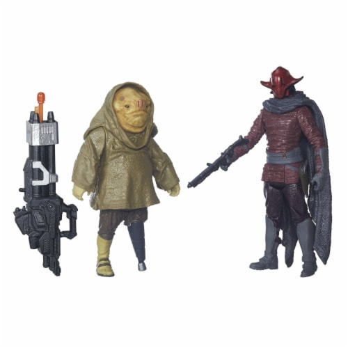 Star Wars: The Force Awakens 3.75 Inch 2 Pack Sidon Ithano and First Mate Quiggold Perspective: front