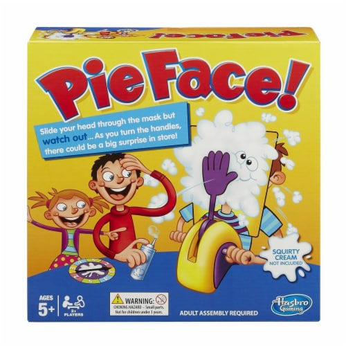 Hasbro Pie Face Game Perspective: front