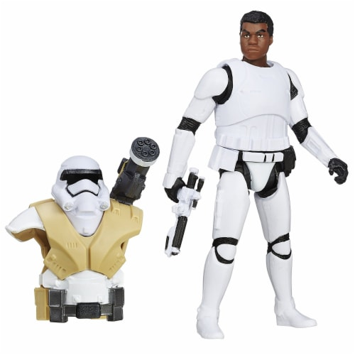 Star Wars: The Force Awakens 3.75 Inch Figure Desert Mission Armor Finn (FN-2187) Perspective: front