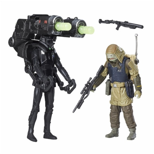 Star Wars Rogue One Imperial Death Trooper & Rebel Commando Pao Deluxe Perspective: front