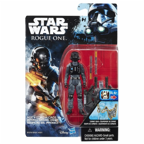Hasbro Disney Star Wars Rogue One Imperial Ground Crew Figure Perspective: front