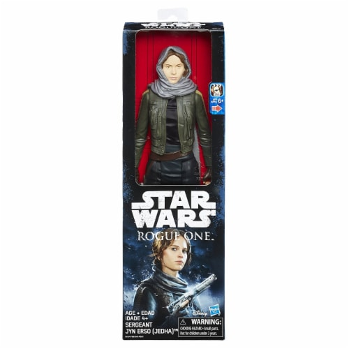 Star Wars Rogue One 12-Inch Sergeant Jyn Erso Figure Perspective: front
