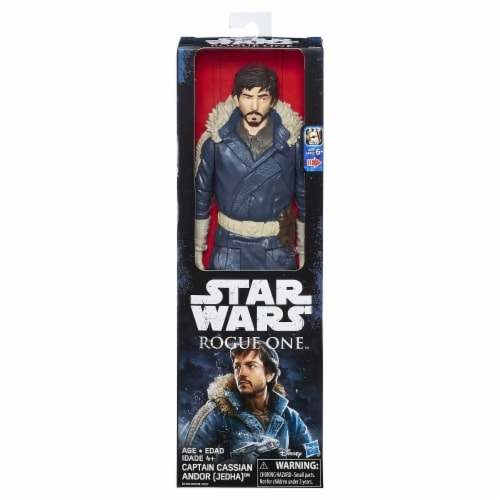 Star Wars Rogue One 12-Inch Captain Cassian Andor Jedha Perspective: front