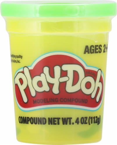 Play-Doh Single Can - Green Perspective: front
