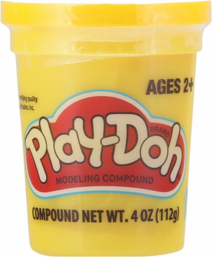 Play-Doh Single Can - Yellow Perspective: front
