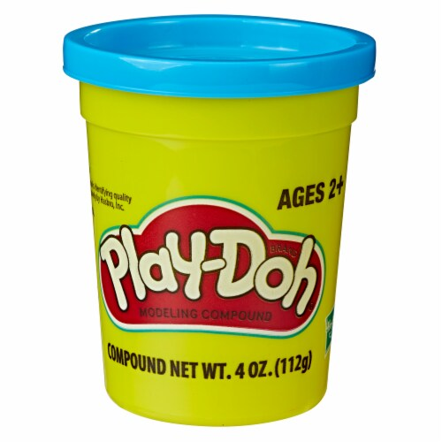Play-Doh Single Can - Blue Perspective: front