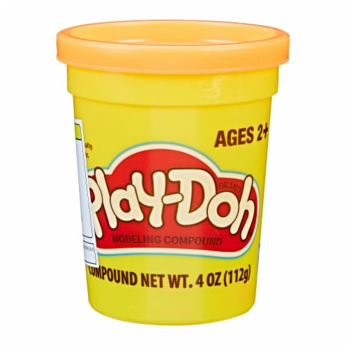 Play-Doh Single Can - Neon Orange Perspective: front