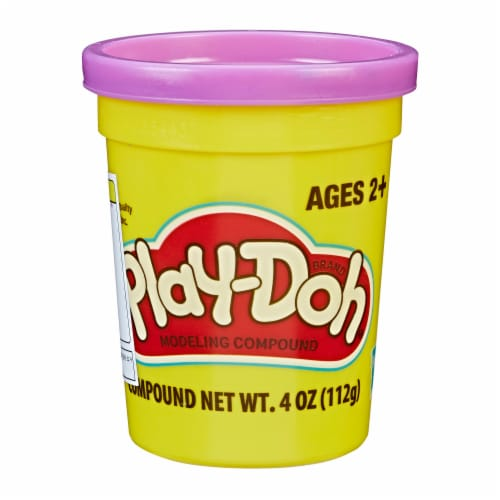 Play-Doh Single Can - Purple Perspective: front