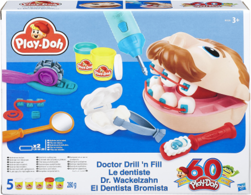 Play-Doh Doctor Drill 'n Fill Playset Perspective: front