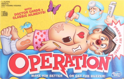 Hasbro Operation Game Perspective: front