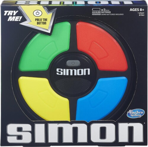 Hasbro Classic Simon Game Perspective: front