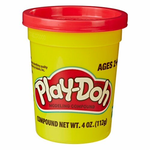Play-Doh Single Can - Rubine Red Perspective: front