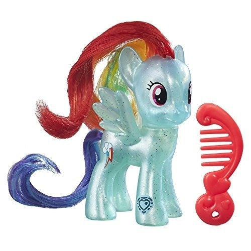 My Little Pony Rainbow Dash Doll Perspective: front