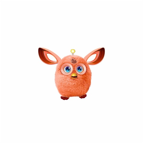 Hasbro HSBB7153 Furby - Connect Friend Toy, Orange - 2 Piece Perspective: front