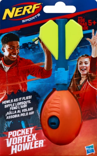 Nerf Sports Pocket Vortex Howler Aero Flyer Ball Perspective: front