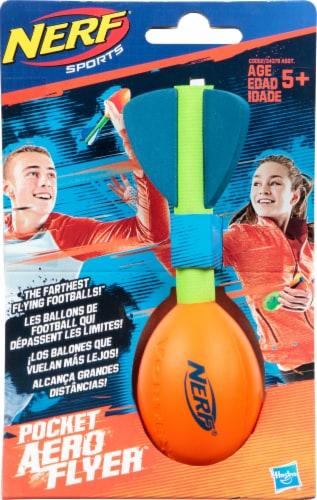 Nerf Sports Pocket Vortex Howler Aero Flyer Ball - Orange Perspective: front