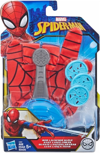 Hasbro Marvel Spider-Man FX Web Launcher Glove - Red/Blue Perspective: front