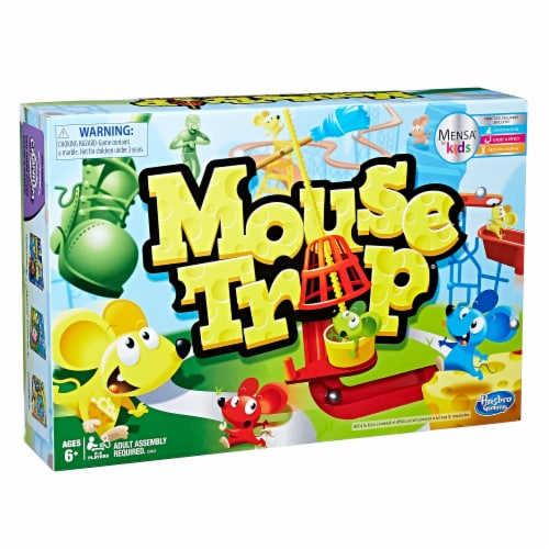 Hasbro Mouse Trap Board Game Perspective: front