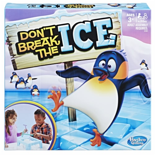 Hasbro Gaming Don't Break the Ice Game Perspective: front