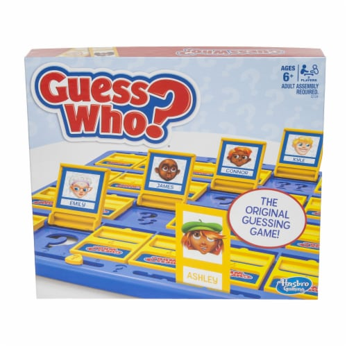 Hasbro Gaming Guess Who? Board Game Perspective: front