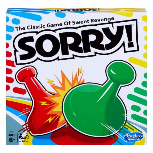 Hasbro Sorry! Board Game Perspective: front