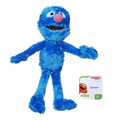 Hasbro Sesame Street Grover Mini Plush Doll - Blue Perspective: front