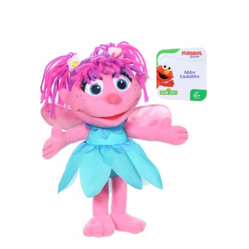 Hasbro Sesame Street Abby Cadabby Mini Plush Doll - Pink/Blue Perspective: front